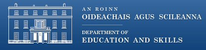 DES-logo-with-name-blue-background-Department-of-Education-and-Skills