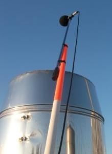 Flue measurement