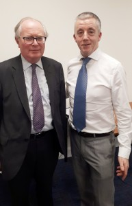 Diarmuid Keaney and Rupert Taylor