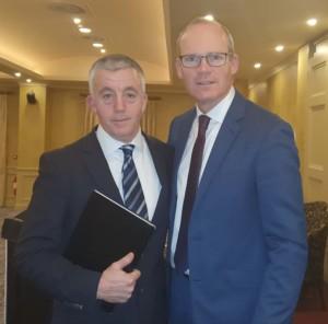 Diarmuid Keaney Simon Coveney